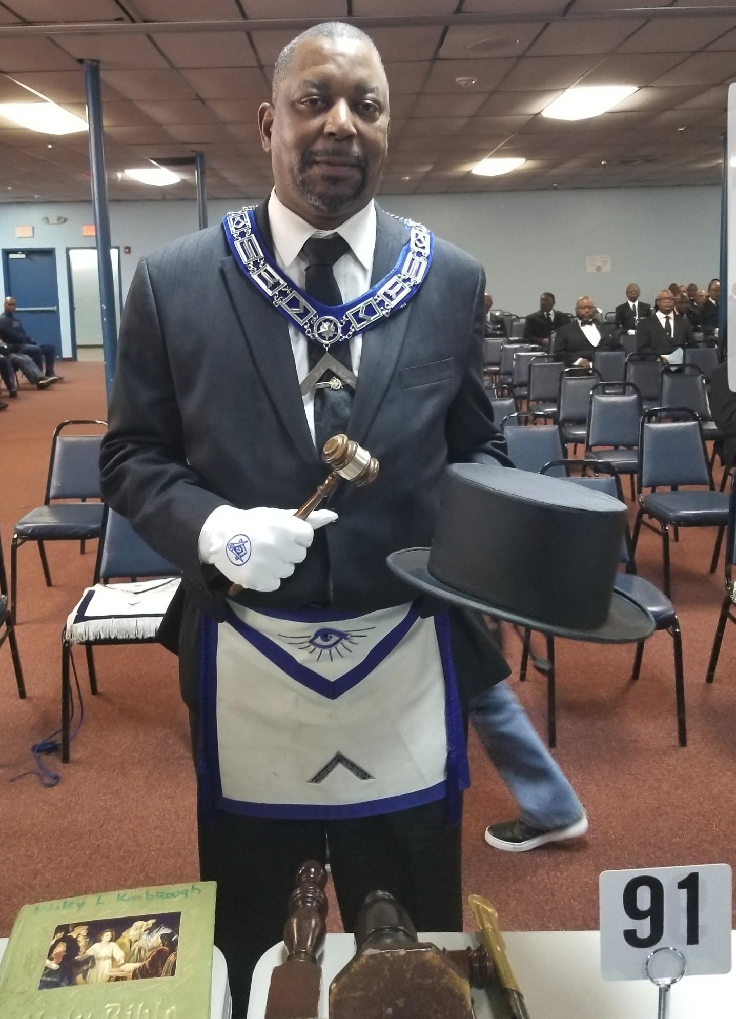 Worshipful Master Wayborn Johnson